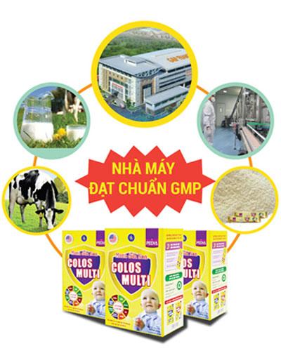 Mama sữa non quy trình sản xuất chuẩn GMP