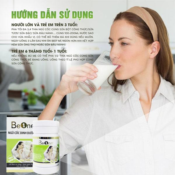 Hướng dẫn sử dụng ngũ cốc Beone