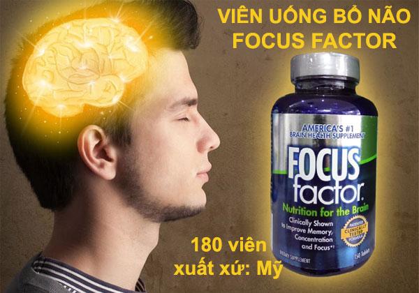Focus Factor Viên Uống Tăng Cường Sức Khỏe Cho Não Bộ - Thanhhuongshop.com